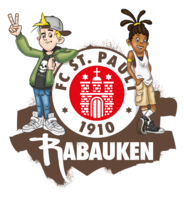 Regular rabauken logo mit kids